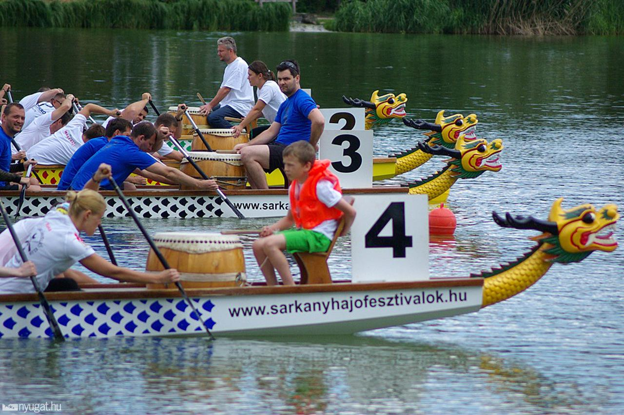Dragonboat Championship in Szeged