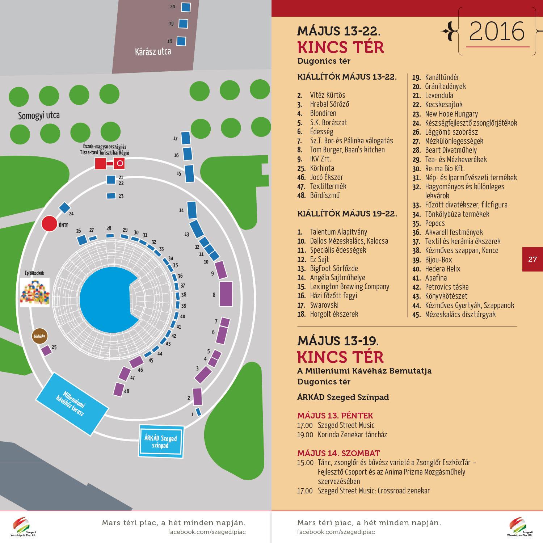 XXII. Szegedi Borfesztivál: már letölthető a 2016-os programfüzet