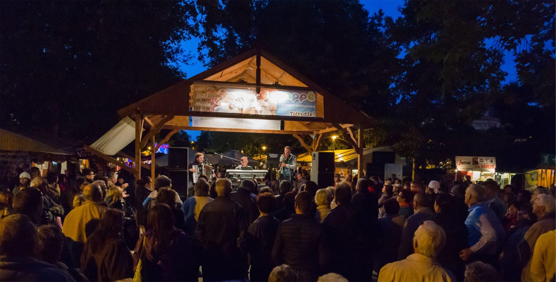 Indul a szombat: ByTheWay, Indigó, Docpiano Band és még rengeteg élő koncert a Borfesztiválon