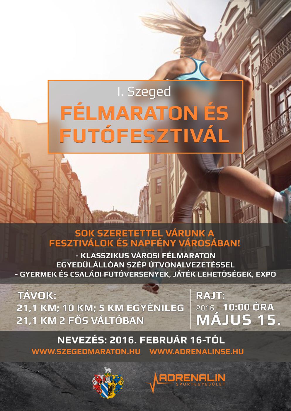 Indul az I. Szeged Félmaraton és Futófesztivál