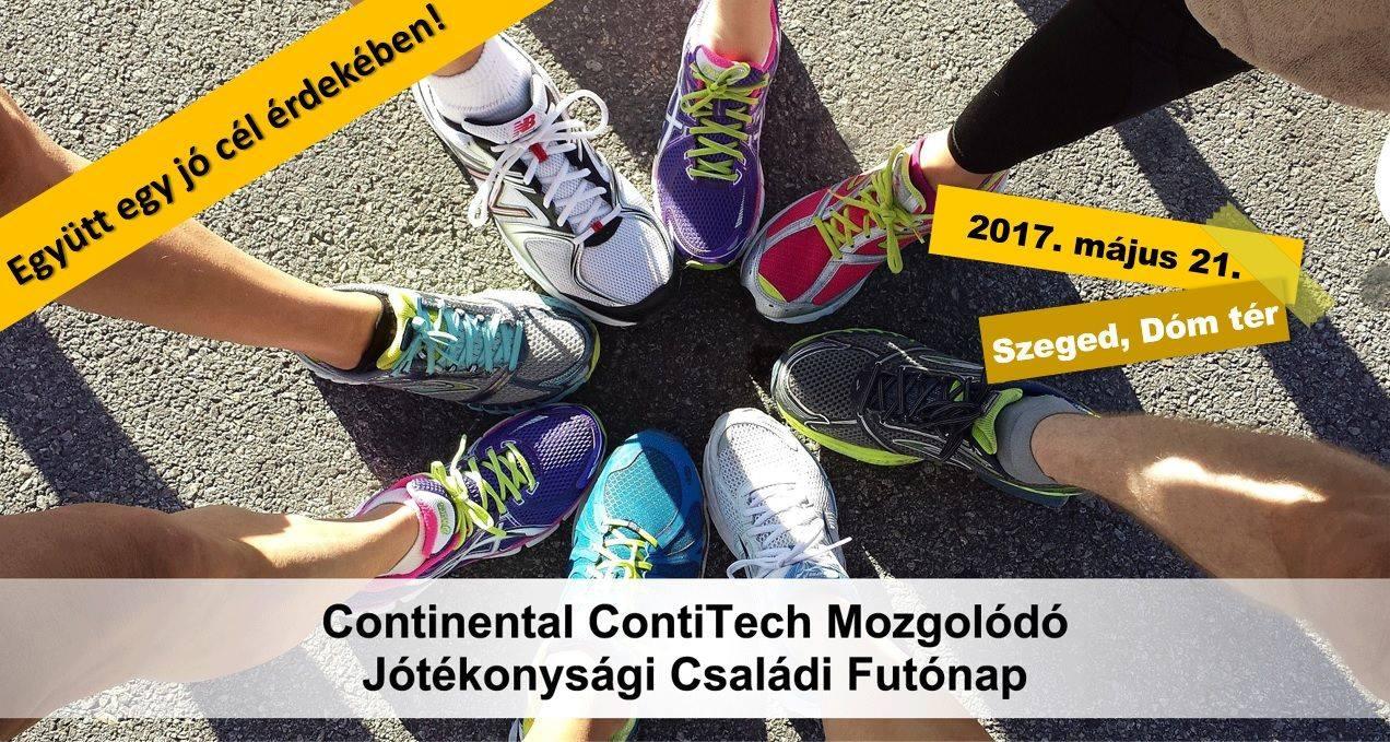 Continental ContiTech Mozgolódó – Jótékonysági Családi Futónap