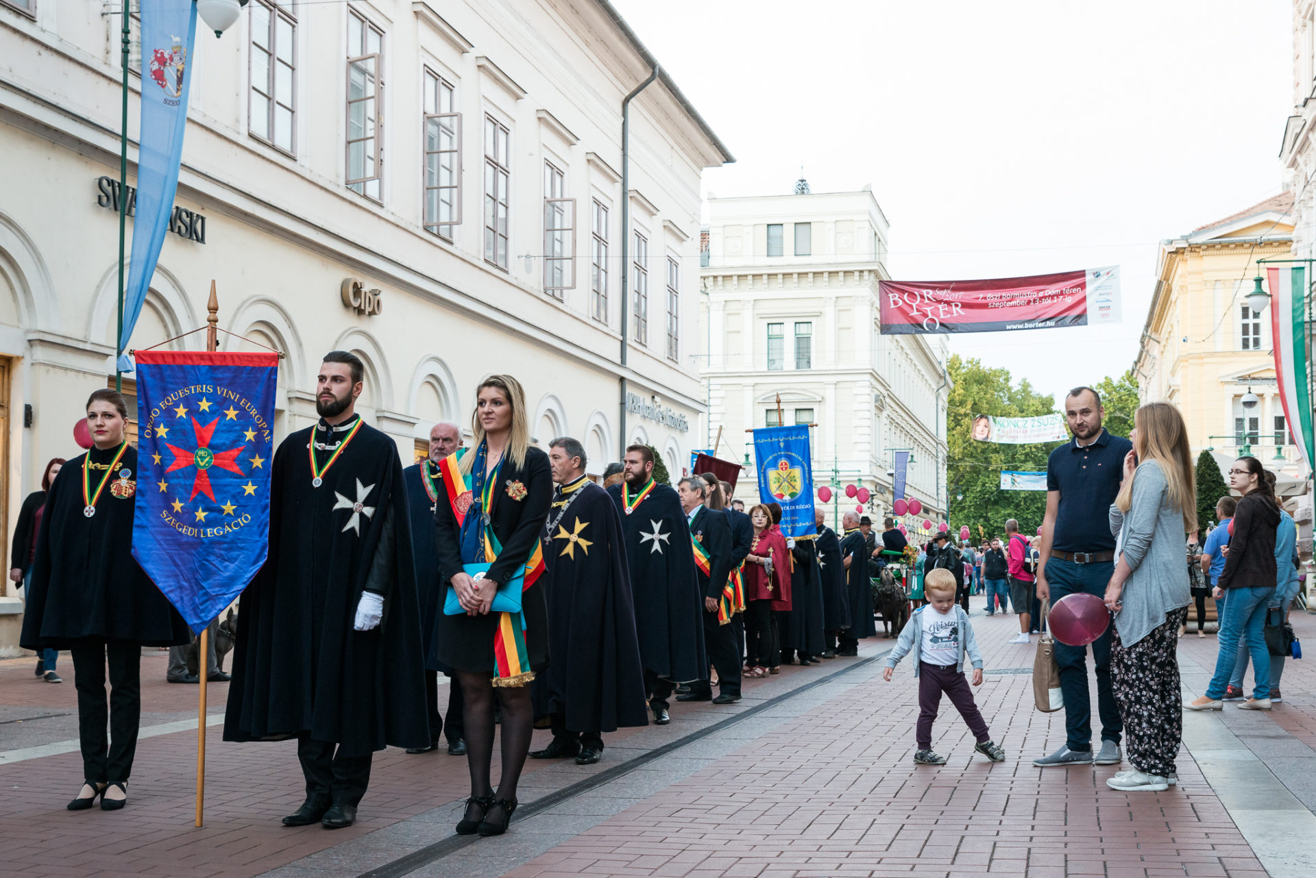Szüreti felvonulással indult a Bortér 2017